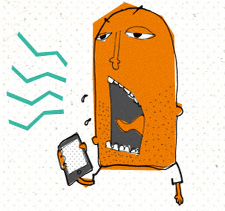 Are You a Cellular Jerk? [infographic]