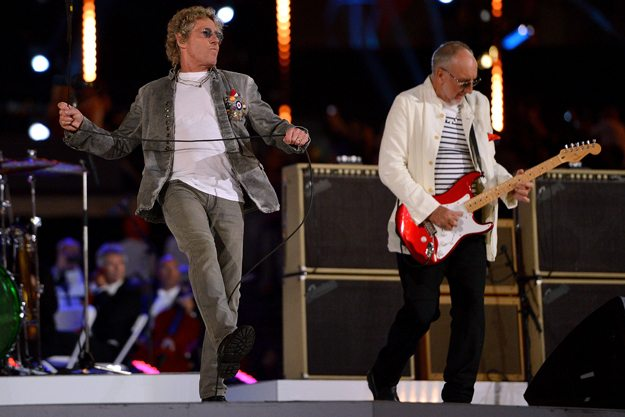 If You Missed It &#8211; The Who Performing at the London 2012 Closing Ceremony