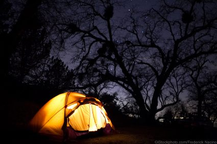 Urban Camping: Get the Traditional Experience in your Backyard!
