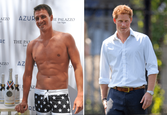 Prince Harry Challenges Ryan Lochte to Swim Race