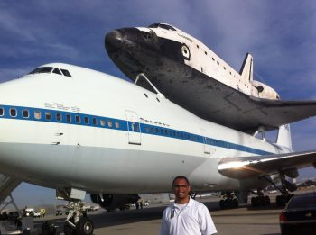 IMG 4721 350x261 Exclusive Coverage   Space Shuttle Endeavor at LAX