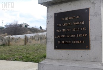 Many of the men buried at the Chinese Cemetery worked on the Canadian Pacific Railway.