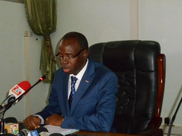 Clément P. Sawadogo, ministre de la fonction publique