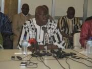 Salifou Diallo juge la situation inacceptable