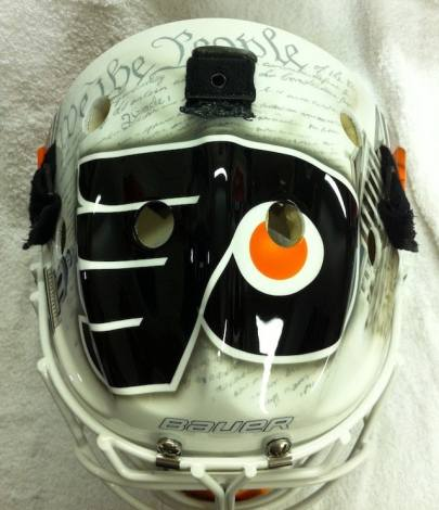 Bryzgalov Flyers Mask by Drummond top