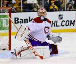Carey Price has worked with goalie coach Eli Wilson, who will be coaching in Detroit in late June. (InGoal photo by Scott Slingsby)