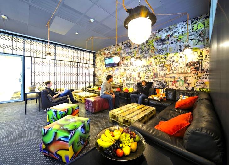 Google Employees In Zurich Zooglers Have The Worldu0027s Coolest RePurposed Office  Inhabitat  Green Design Innovation Architecture Building