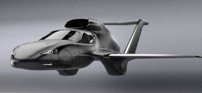 GF7 Flying Car Reaches 550 MPH in the Air, Then Turns into an Electric Car on the Ground