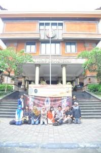 Kunjungan BPN ISMKI di Universitas Udayana. Welcome to Bali friends!