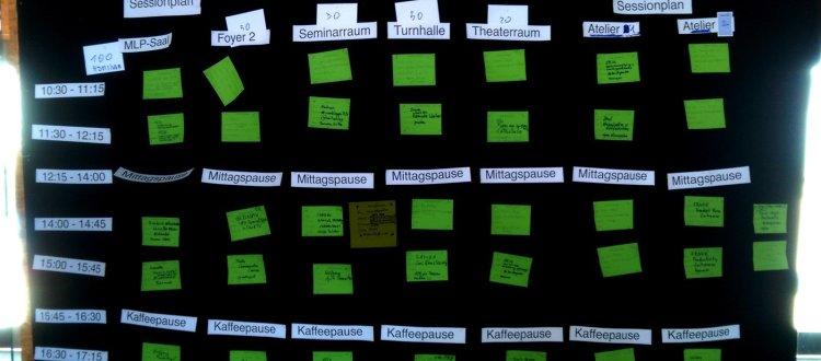 Sessionplan BarCamp Rhein-Neckar