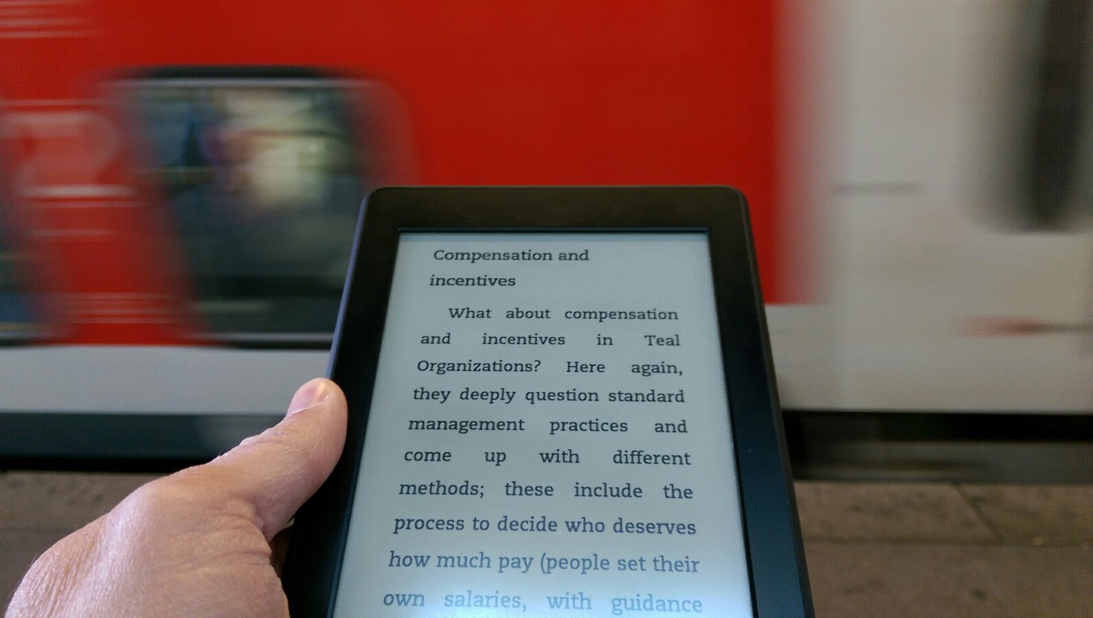 Reinventing Organisations (Kindle)