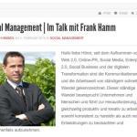 ManagementRadio: Im Talk mit Frank Hamm