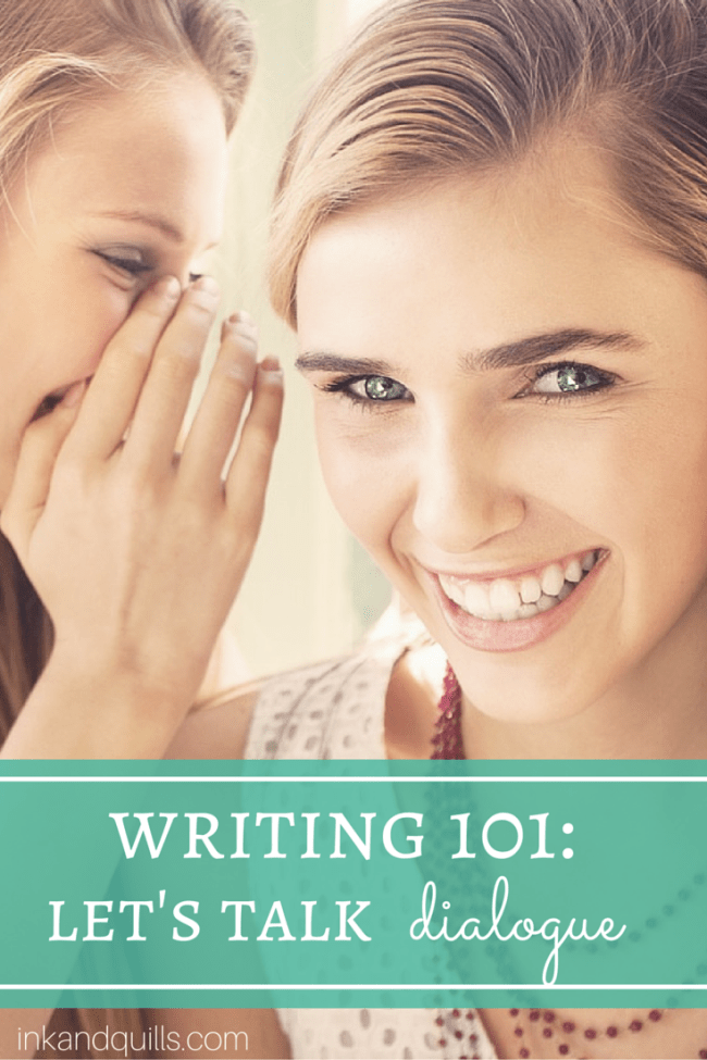 Part 5 in the Writing 101 series for new writers! Today, we're discussing the basics of dialogue. Learn the best speech tag to use, how to punctuate dialogue correctly, and the difference between spoken and written dialogue!