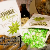 Serving up some Zombie BOOgers!