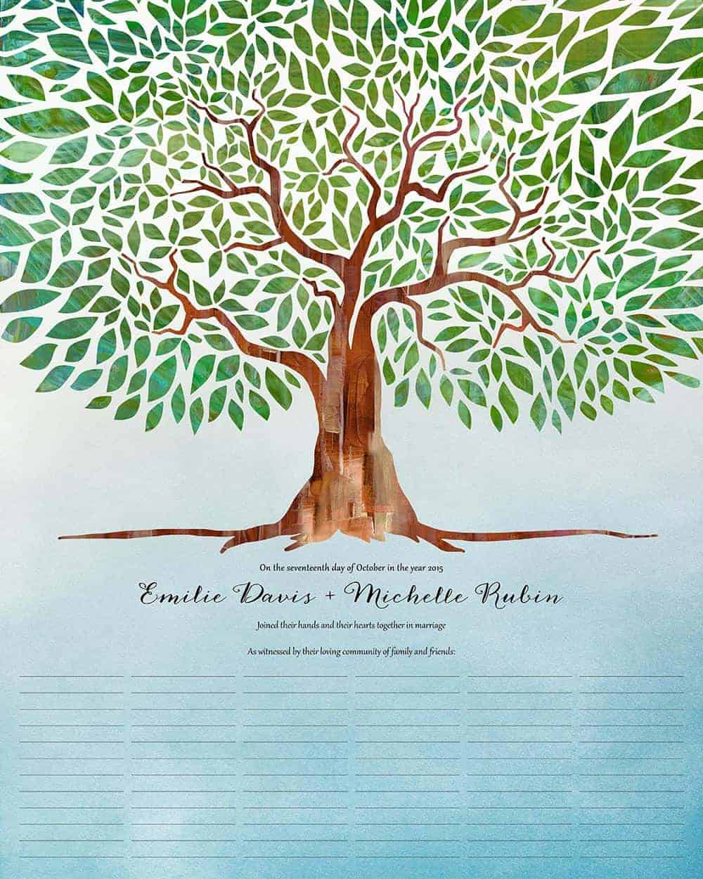 tree of life i am my beloveds qwc wedding certificate Tree of Life I am my beloved s wedding certificate