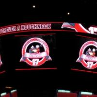 Captain Calgary honoured by Roughnecks