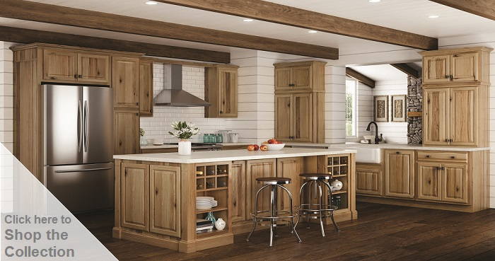 Kitchen Cabinets Design Ideas Hickory Wood Cabinets45