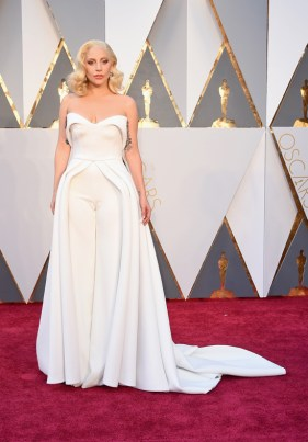 Lady Gaga - 2016 Oscar red carpet