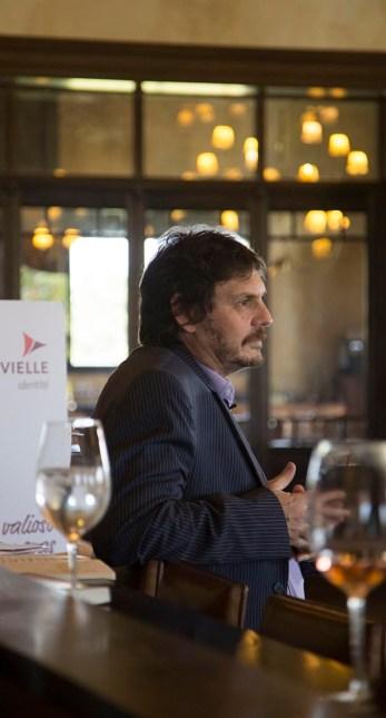 Felipe Pigna, en un momento de su charla.
