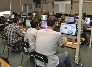 Menlo-Atherton High School Journalism Class