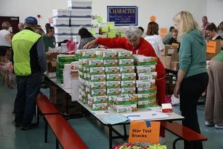 Compassion Weekend Volunteers at Willow Oaks School