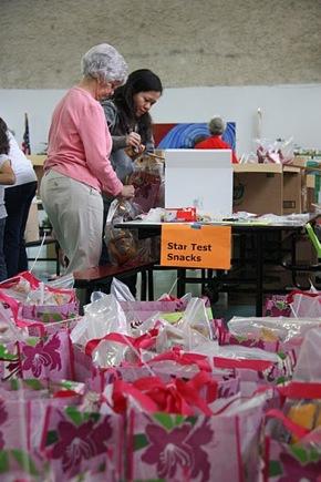 Compassion Weekend volunteers at Willow Oaks School in Menlo Park