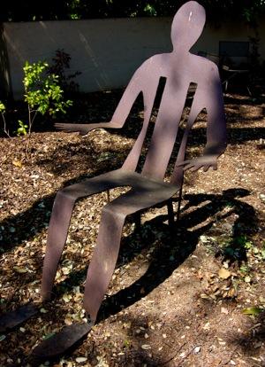 chair in Mince garden