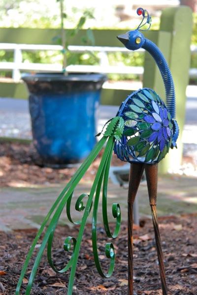 McDonough house_peacock