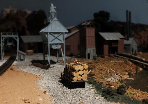 Model railway second
