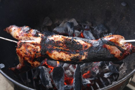 how to cook a spit roast