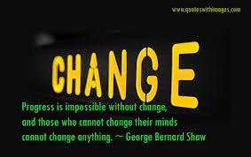 Change George Bernard Shaw