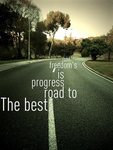 Progress road