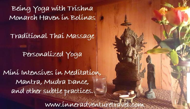 tara altar w text, postcard