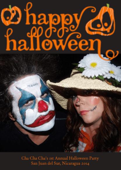 Happy Halloween from Nicaragua