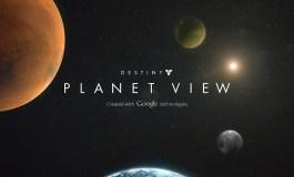 Реклама игры Destiny при помощи Google Maps