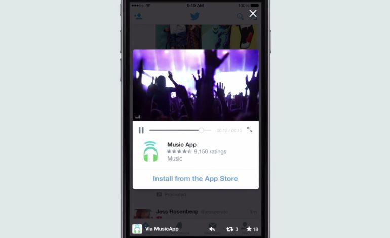 Twitter предлагает видеорекламу для приложений