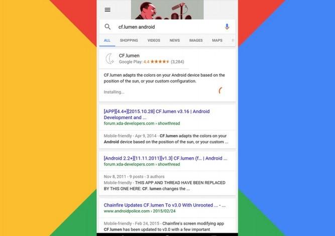 Google запустил функцию установки приложения прямо из результатов поиска