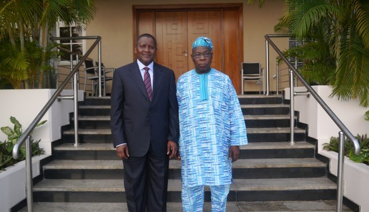obasanjo and dangote