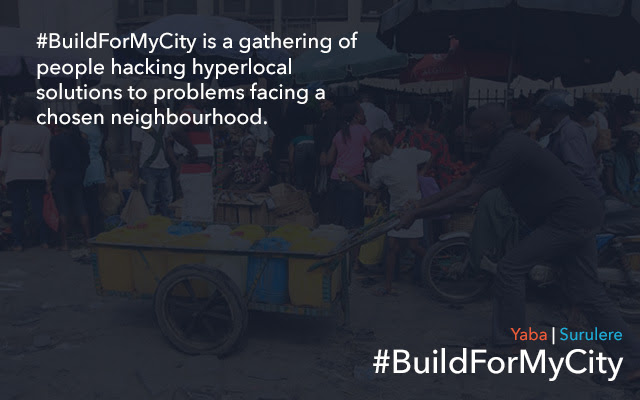 #BuildForMyCity