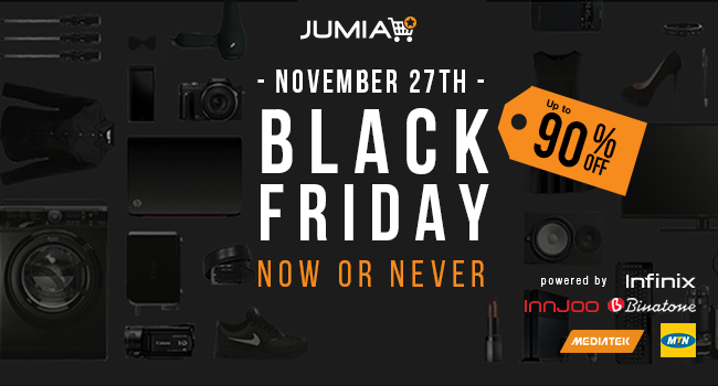 Jumia Black Friday Sales