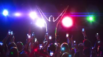 phone camera concerts