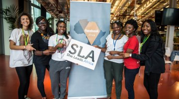 Facebook partners She Leads Africa