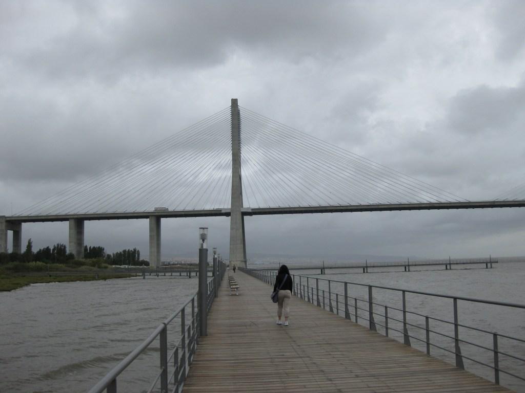 Vasco da Gama Bridge - Lisbon, Portugal. Image Credit: Tasha S. K. Aoaeh (2010)