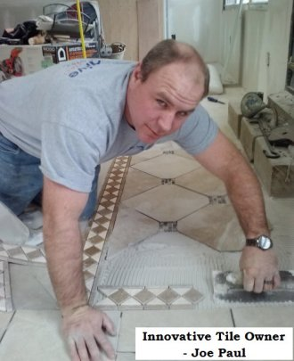 Tile installation construction contractor in Ocean County, NJ