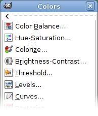 GIMP Colors