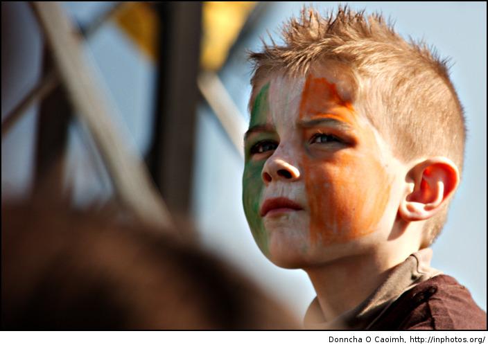 tricolour boy