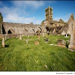 Timoleague Abbey and graveyard