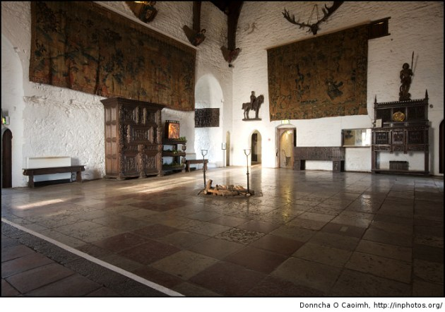 Bunratty Castle Interior