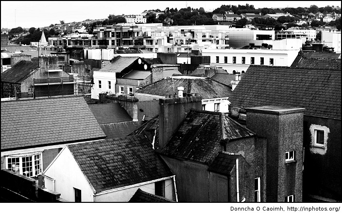 Cork rooftops on and on