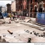 Academy Street Under Rubble